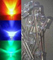 Free Shipping 1000pcs X 5MM RGB LEDSuper Bright  Fast flash!