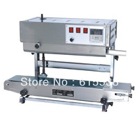 100% Warranty semi-automatic bag sealing machine,continuous band heat sealer with high quality