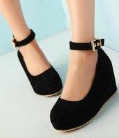 Free shipping wedges shoes platform women sexy dress footwear fashion pumps P4710  hot sale EUR size 34-39