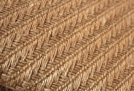 Zakka rustic hemp fish bone jute slanting stripe hemp burlap thick hemp 13 meters(China (Mainland))