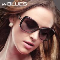 2013 hot saleFreeshipping in stock 100% original2013 women's fashion large frame polarized sun glasses anti-uv sunglasses female