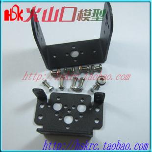 Mg995 996 steering gear pan and tilt mount mechanical robot servo mount set