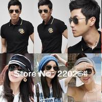 2013 hot saleFree shipping in stock 100% original T08 personalized metal box toad anti-uv sunglasses fashion sunglasses in stock