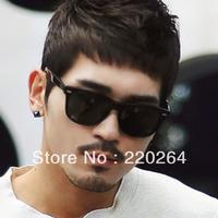 2013 hot sale in stock 100% original Vintage black sunglasses polarized sunglasses fashion sunglasses star style sunglasses 2140