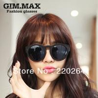 2013 hot sale Free shipping in stock originalGimmax round big box sunglasses male fashion vintage female star style sunglasses