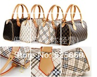 2013 Fashion Women's Brand Bag High Quality PU Leather HandbagsTote Bag Free Shipping