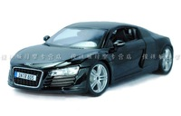 HOT !  2013  newest !  Maisto 1: 18  AUDI R8 sports car car model   BEST Honourable series  !3 colors to choose