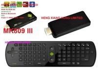 [ Free  RC11 air fly mouse ] stick  Anroid 4.2 Quad Core RK3188  Bluetooth Wifi TV Box  XBMC RAM 2G ROM 8GB tv dongle MK809 III