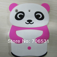 Mix Color Lovely Panda Stye Soft Silicon Case for iPad Mini
