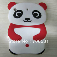 Newest Soft Silicon Panda Case for iPad Mini, Mix Color