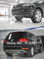 V W Touareg Front Rear Bumper Protector Guard Plate ,2011+, Normal Style,Stainless Steel, Wholesale Prices