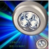 Wholesale free shipping 3 leds 50,000 hours lifespan portable high brightness led Emergency light/lamp night/touch lighting
