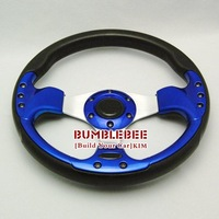 Free Shipping,MOMO PU 13 inches , Sport Steering Wheel for Modified Car,racing wheel,K050