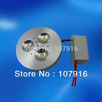 Guaranteed100% dimmable edison led aluminum shell 110v 120v  220v 3w led puck light for cabinet  furniture boat display case