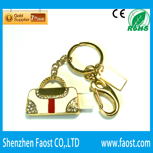 jewelry bag flash stick usb, retail selling key drive, promotion gift usb memory(China (Mainland))