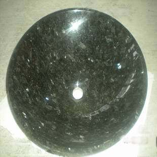 vessel sink Natural granite emerald pearl handbasin fashion decoration bathroom art basin(China (Mainland))
