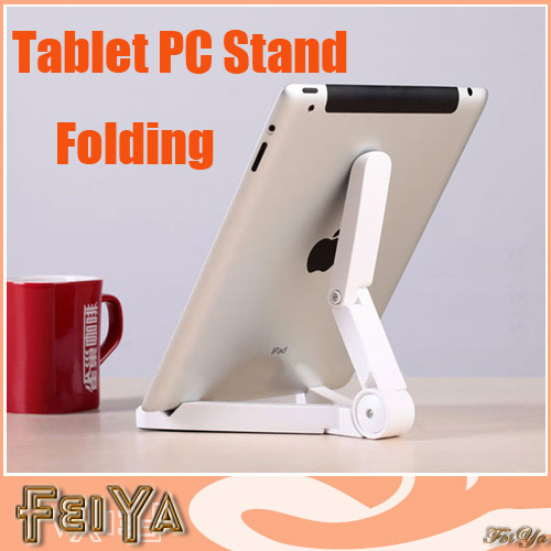 Newest Tripod Universal Folding Holder Stand Bracket For Apple Samsung Galaxy 7&quot;-10&quot; Tablet PC Phone Notebook Free Shipping(China (Mainland))