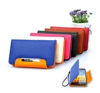 Wallet Leather Case Cover For Samsung Galaxy S2 SII GT-I9100 Free Shipping Wholesales