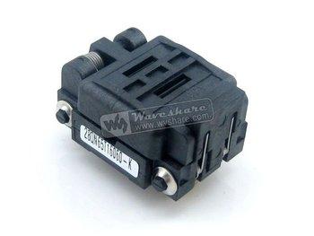 QFN28 MLP28 MLF28 28QN65T16060 Plastronics IC Test Burn-in Socket QFN Programming Adapter 0.65mm Pitch + Free Shipping