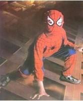 Free shipping new Kids Spiderman Cosplay Costume Halloween Christmas Gift