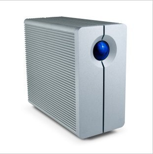 LaCie Thunderbolt 2-disk RAID 4T lightning 4TB 9000191 327MB/s nas server storage Networking(China (Mainland))