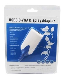 Hot sale Cheapest wholesale Free shipping USB3.0 to HDMI Adapter Converter component cable hdmi adapter with audio HDTV 1080P(China (Mainland))