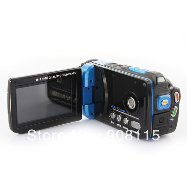 HD 1080P 16.0MP Digital Video Camcorder Sport DV Waterproof DV Camera Underwater US free shipping DB0215(China (Mainland))
