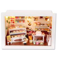 gift cake music box birthday gift diy model toy diy wood dollhouse