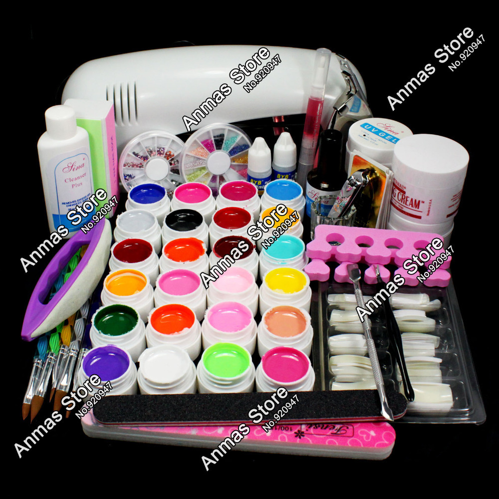 Full acrylic nail kit home design acrylic brush nail art kit compare prices on acrylic nail art kit online shoppingbuy low prinsesfo Images