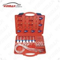 WINMAX Flow Meter Adaptor Set Common Rail Diesel Spill Injector Tester  WT04293