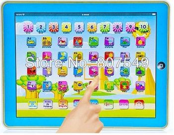 Y-PAD Y PAD touch speech children tablet learning machine Spanish ABC laptop computer educational baby toys musical