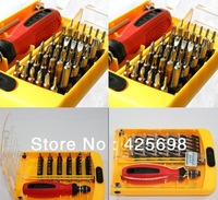 "38 in 1 Tools Screwdriver set Diameter 1.0-4.0mm Scissors head type(Slotted Phillips Inside hex Hex Star Triangle ""Y"" Conic)"