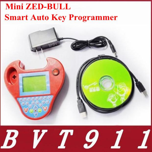 2015 Newest designed ! New Auto Key Programmer Mini Zed Bull key programmer FreeShipping with good technic support smart zedbull(China (Mainland))
