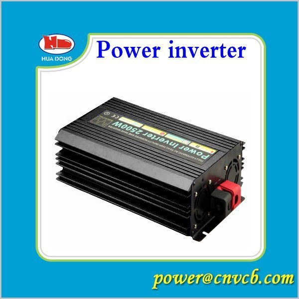2500W Watts Peak Real 5000W 2500 Watts Power Inverter 12V DC to 120V AC Modified Sine Wave With battery charge function(China (Mainland))