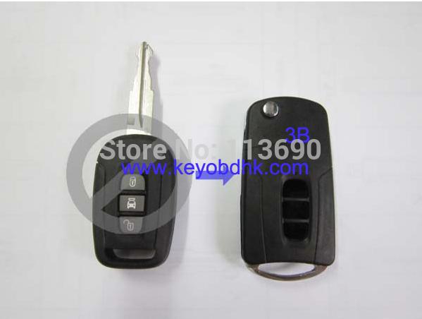 3 Кнопка Изменение Складной Автомобиль Пустой Ключ для Chevrolet Captiva Замена Флип Ключ Оболочки Дистанционного Чехол чехол на сиденье skyway chevrolet cobalt седан ch2 2