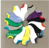10pairs/lot  Men colorful socking Spring Autumn Short Invisible Socks Sport Sock Wholesale