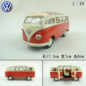 1:24 USA Bus Auto Logos alloy car model Free shipping