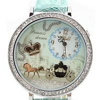 Handmade POLYMER CLAY Korea Mini Diamond  Watch,Hot Selling - carriage