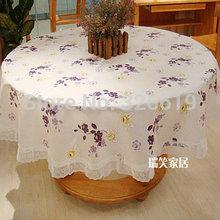 wholesale round plastic tablecloth