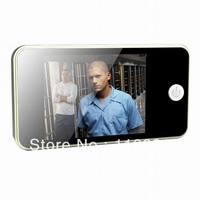 "Free Shipping 3.5"" LCD Digital Video Door Peephole Viewer Security Digital Camera"