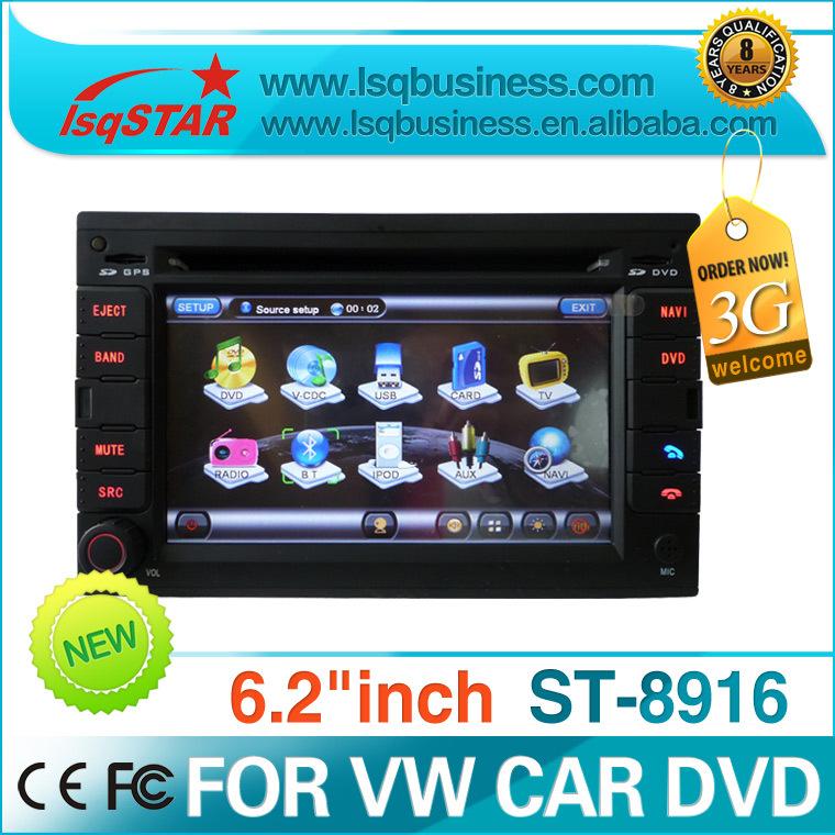 Free Shipping Free Map LSQ STAR VW PASSAT B5 Car dvd player dealer with GPS SD USB TV BT IPOD PIP CDC ST-8916(China (Mainland))
