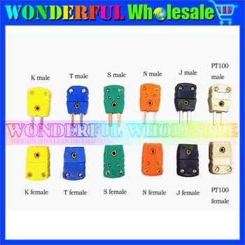 Miniature thermocouple plug socket thermocouple connector thermocouple connector,12Models,one for each