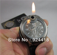 free shipping 6pcs/lot watch lighter Amazing price with good quality lighter inflatable Arbitrary choice