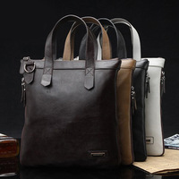 Free shipping First layer of cowhide man bag vertical genuine leather handbag man bag shoulder bag messenger bag