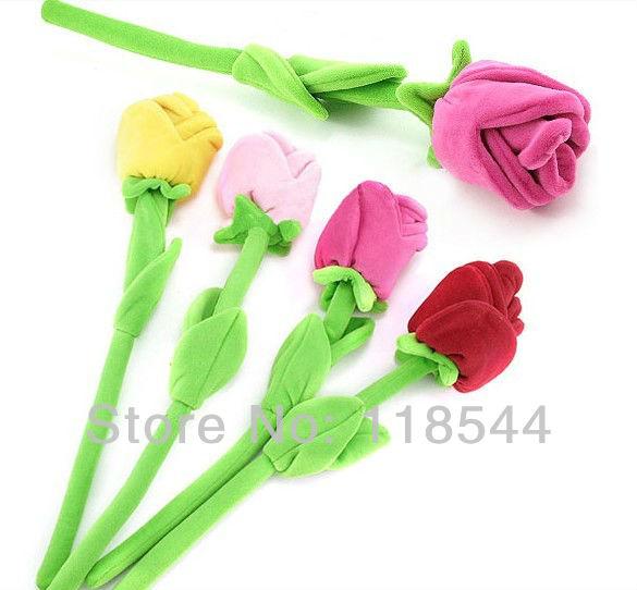 plush flower curtain buckle, multifunctional flower plush rose artificial flower 30cm free shipping(China (Mainland))