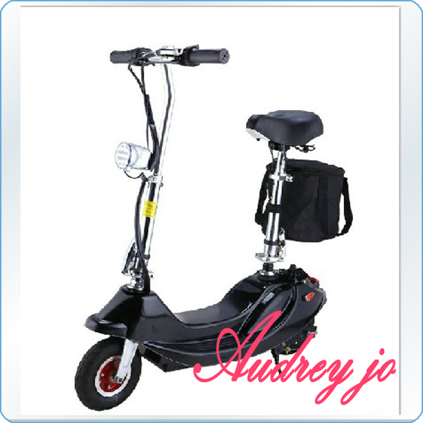 Free ship CE Approved Foldable 250W / 24v 10AH Electric SCooter with Easy Detaching Seat e- e-vehicle electric folding bike(China (Mainland))
