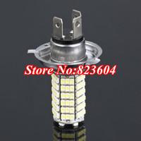 20x Car 120 LED 3528 SMD H4 White Fog Light Lamp Bulb DC12V Free Shipping