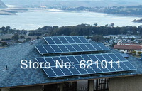 7680W solar energy system, three phase output home solar generaror, includes 8kw grid tie solar inverter and solar cell modules