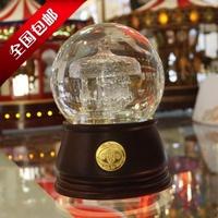 Transparent color dream crystal ball music box cold catalyst mosquito killer aerobic bonsai