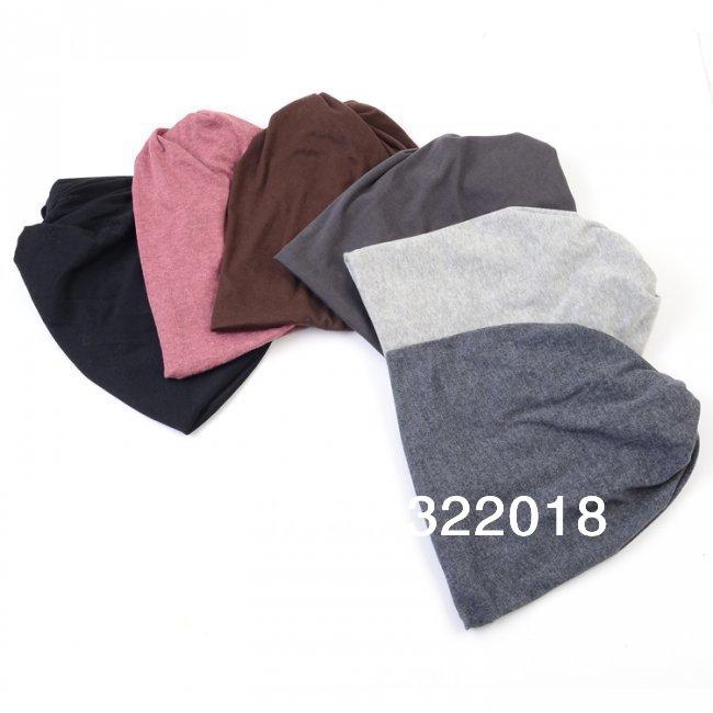 Wholesale 10pcs NEW Unisex Cotton Hat Oversized Beanie Cap Scarf Men Beanies Hats Mens Caps Women Headwear Scarves Spring Autumn(China (Mainland))